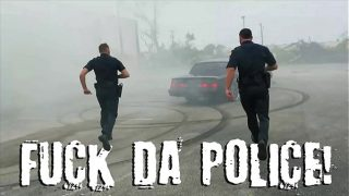 GAY PATROL – Fucking the white police with some chocolate dick