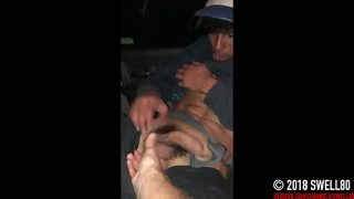 straight bi curious 21yo street trade has fun with first gay jerkoff session (Danny 1)